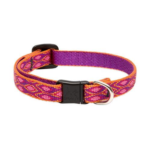 "Lupine Cat Collar 1/2"" ( Multiple Colours )"