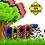 Thumbnail: BOB Refill Bags - RainbowRoll 60 bags (4x15)