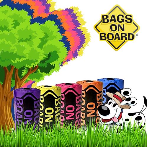 BOB Refill Bags - RainbowRoll 60 bags (4x15)