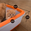 Thumbnail: Cateco Self Drying Litter Box ( Blue & Orange )