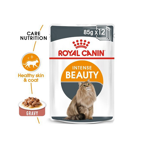 Royal Canin Wet Food - Intense Beauty (pouches)
