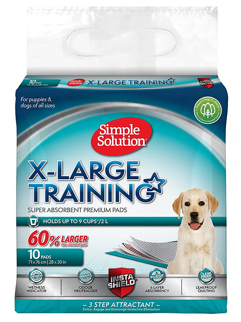 Simple Solution Extra Large Puppy Training Pads - 10