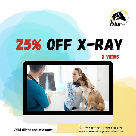 25% off X-rays