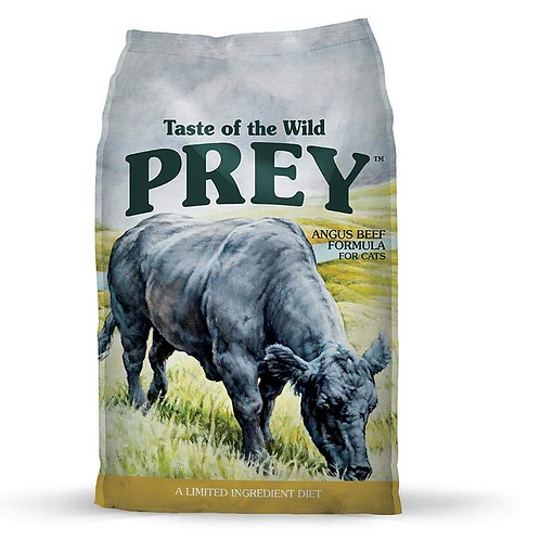 Taste of the Wild Prey Angus  Beef Cat 2.7kg & 6.8kg Bags