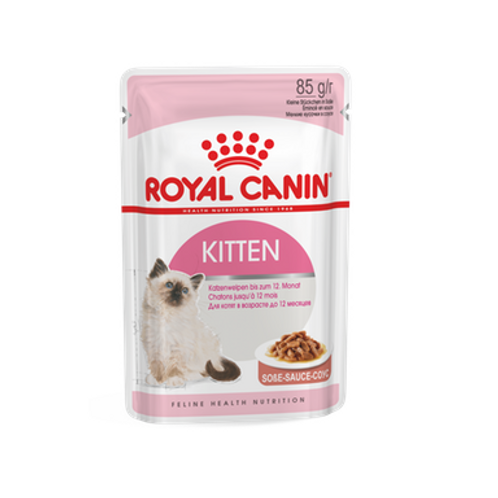 Royal Canin Wet Food - Gravy/Jelly - Kitten Instinctive (pouches)