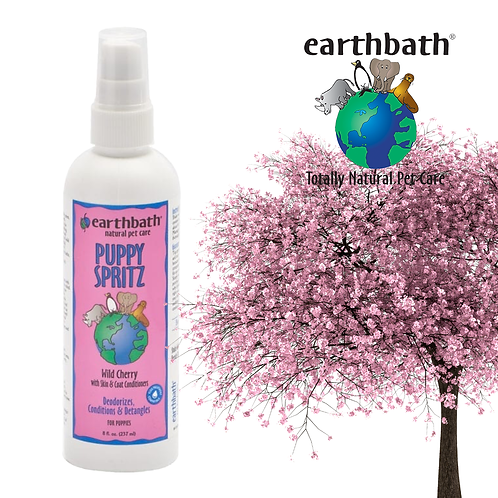 SPRITZ Puppy Baby Fresh Cherry Essence 8oz Pump Spray