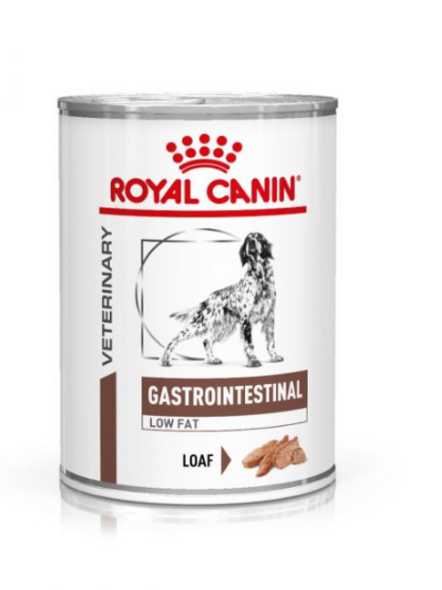 Royal Canin Wet Food - Gastro-Intestinal Low Fat Diet (cans)