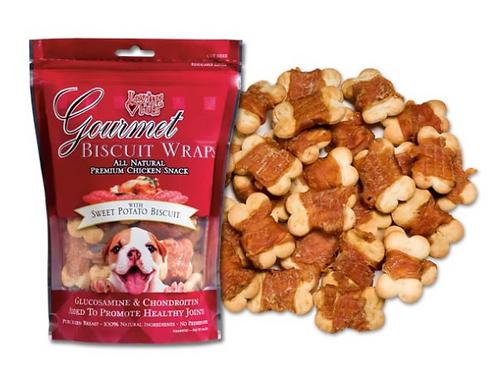 Loving Pets Sweet Potato & Biscuit Wraps 8oz