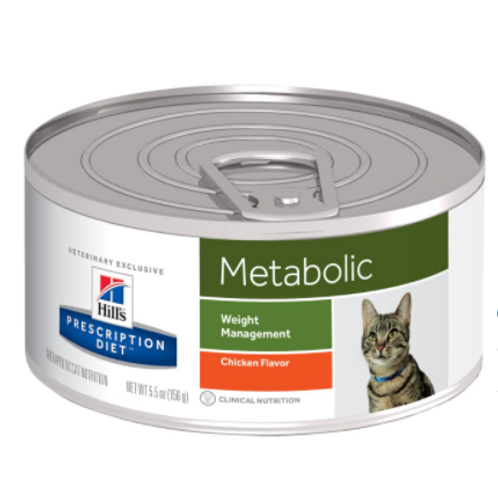 Hills PD Metabolic Feline 156 grams per can