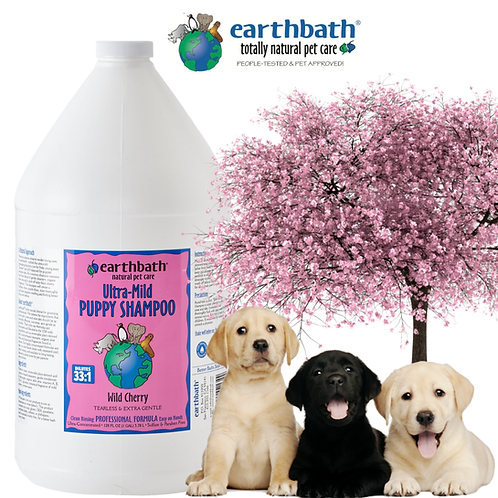 EARTHBATH -  Puppy Shampoo Tearless & Extra Gentle Gallon 3.8