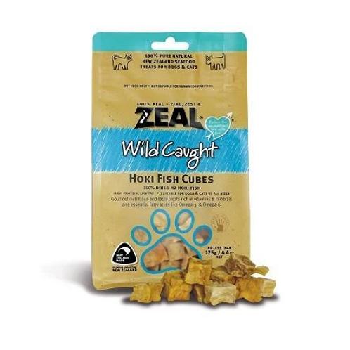 Zeal Hoki Fish Cubes 125gr
