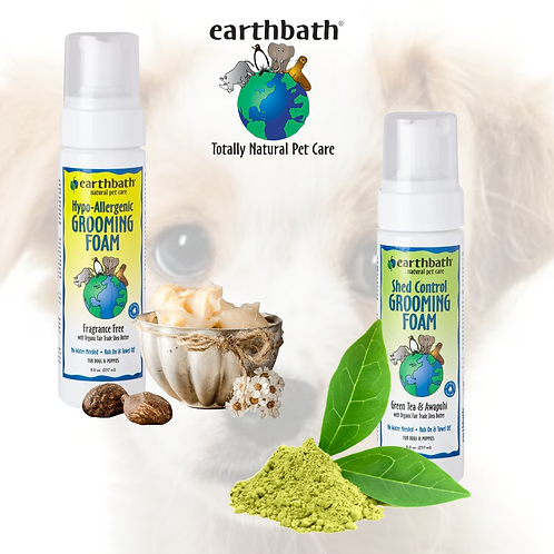 EARTHBATH -  Waterless Grooming Foam for Dogs & Puppies