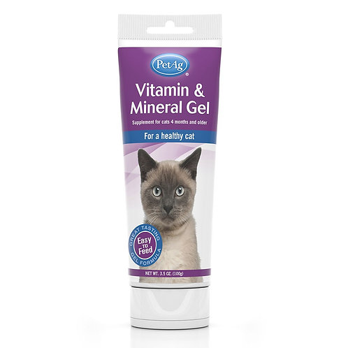 Vitamin & Mineral Gel for Cats ( 2 Sizes Available )