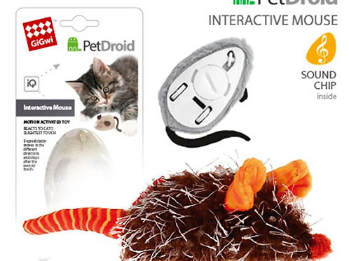 "Activity Mouse ""Pet Droid"" Pink/Brown"