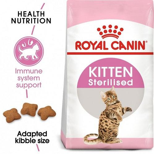 Royal Canin - Feline Health Nutrition Kitten STERILISED 2 KG