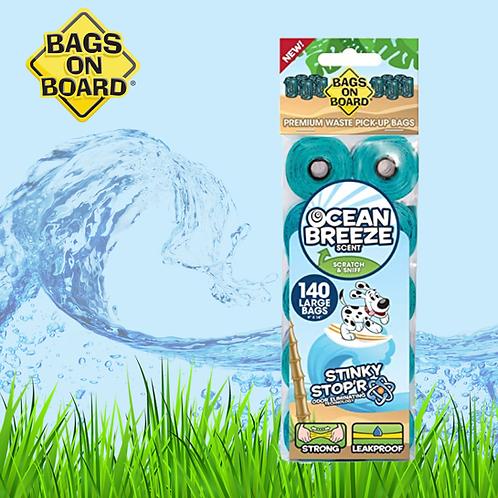 BOB refill bags Ocean Breeze Scent 10 Rolls