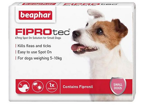 Fiprotec for Small Dog (2-10kg) 67mg Fipronil
