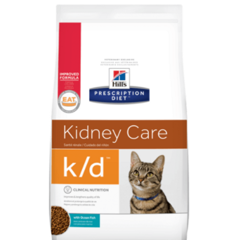 Hills PD Feline k/d Tuna 400g, 1.5kg & 5kg Bags