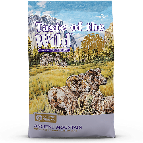Taste of the wild - Ancient Mountain Canine Recipe Lamb