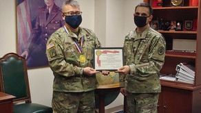 ASA Awards 1st GOLD OSG to Colonel Francis Park