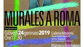 """Mostra """"Murales a Roma"""" dei ragazzi della Fondazione di Liegro"""
