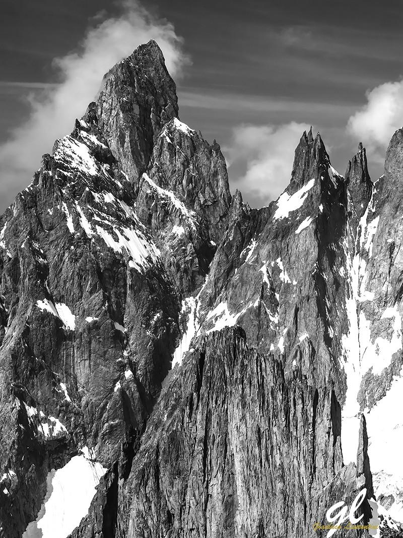 Aiguille Noire, massiccio del Monte Bianco - www.gianlucalaurentini.it