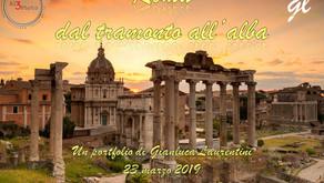 """Sabato prossimo vi invitiamo alla mostra gratuita: """"Roma - dal Tramonto all'alba"""""""