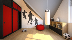 projekt pokoju dla nastolatka