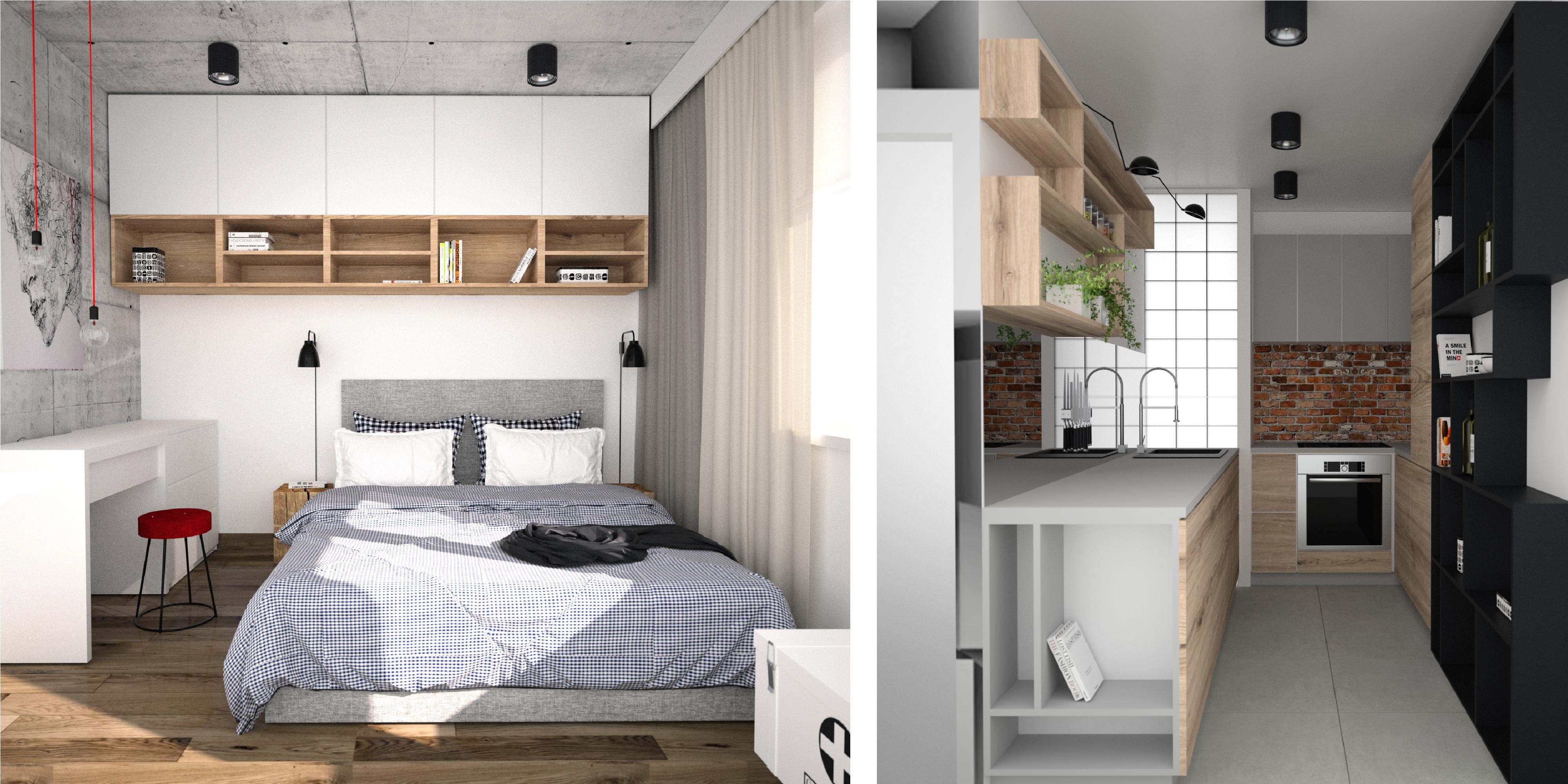 biała sypialnia, white bedroom