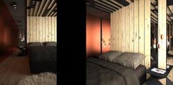 miedź we wnętrzu, copper interior