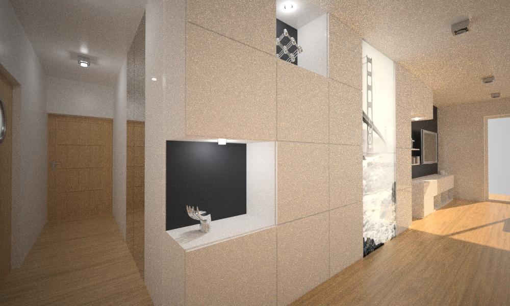 projekt zabudowy w salonie