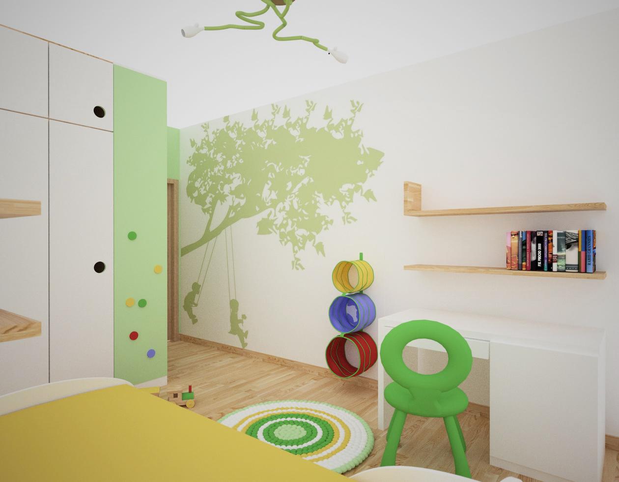 projek pokoju dla dziecka