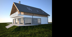 nowoczesny projekt domu