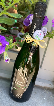 Coffret cadeau champagne & bouchon à champagne
