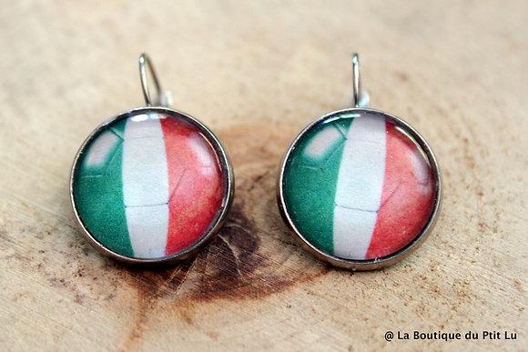 """Boucles d'oreilles 'Italie"""""""