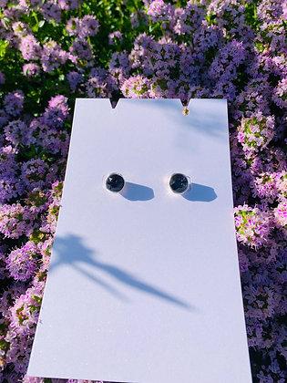 Modèle Léa argenté & noire/anthracite
