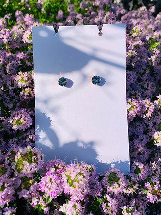 Modèle Léa rose doré & bleu gris