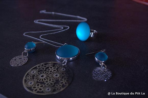 Parure complète LUNASOFT Turquoise