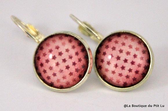 Boucles d'oreilles étoilées