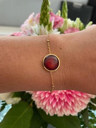 Bracelet *Inéa* brun