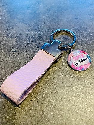Porte-clés à personnaliser en cuir