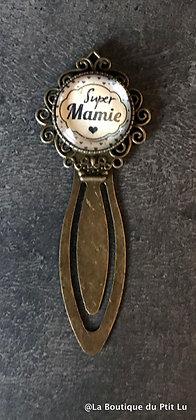 "Marque-page ""Super Mamie"""
