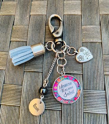 Porte-clés Mamie personnalisé