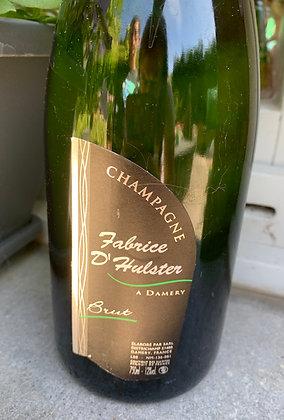 """Coffret cadeau champagne & collier en acier inoxydable *coeurs entrelacés"""""""