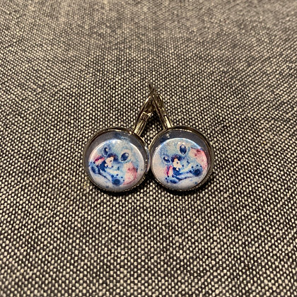 Boucles d'oreilles Stich