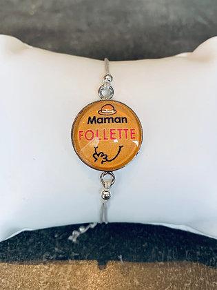 "Bracelet ""Maman follette"""