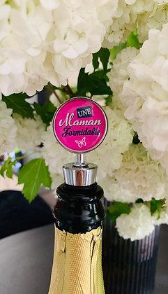 """Bouchon à champagne ou à vin """"Une Maman formidable"""""""