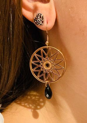 Modèle Azteca rose doré et noir
