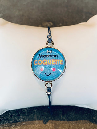 """Bracelet """"Maman coquette"""""""