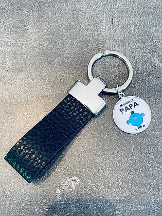 """Porte-clés """"Monsieur Papa"""""""